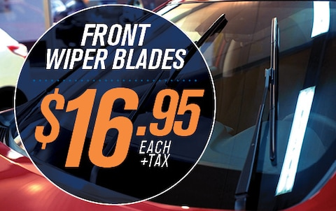 FRONT WIPER BLADES $16.95 EA. + tax