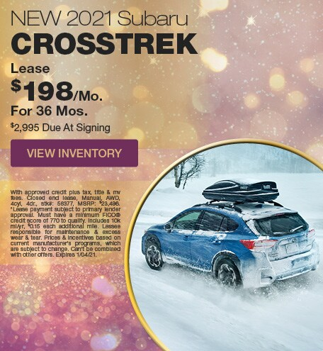 January 2021 Subaru Crosstrek