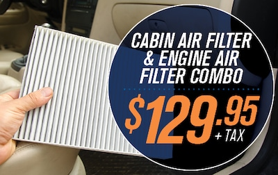 CABIN AIR FILTER AND ENGINE AIR FILTER COMBO