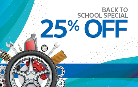 Back to School Special 25% Off