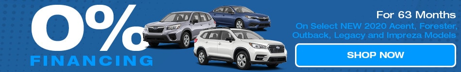 0% Financing 2020 Subaru Vehicles