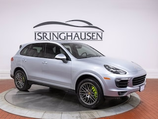 Pre-Owned 2017 Porsche Cayenne S E-Hybrid Platinum Edition S E-Hybrid Platinum Edition AWD for sale in Springfield, IL