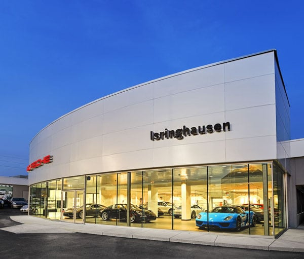 Isringhausen Porsche New Porsche Dealership In