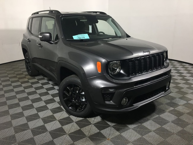 New 2019 Jeep Renegade ALTITUDE 4X4 Sport Utility in Mitchell, SD