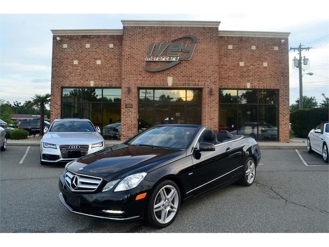 2012 mercedes e350 convertible value