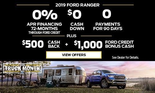 2019 Ranger - Truck Month