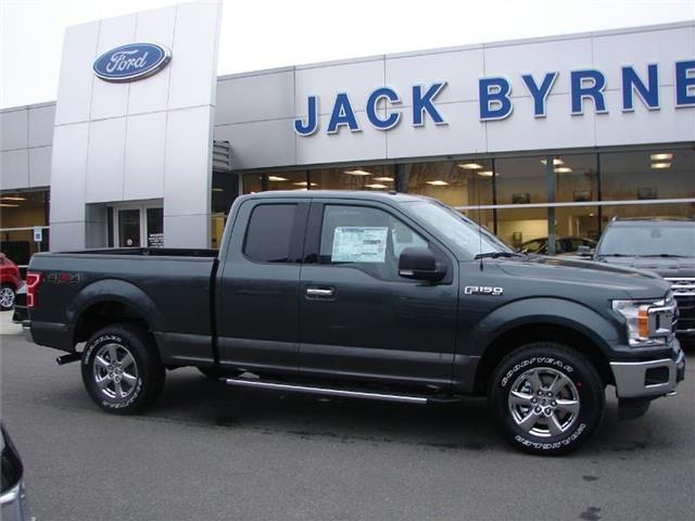 2018 Ford F-150 XLT 4x4 SuperCab Styleside 6.5 ft. box 145 in. WB