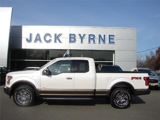 2015 Ford F-150 Lariat 4x4 SuperCab Styleside 6.5 ft. box 145 in.