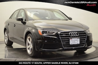 2016 Audi A3 2.0T Premium Sedan for sale at Jack Daniels Audi of Upper Saddle River, NJ