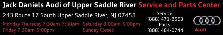 Schedule Audi Service in Upper Saddle River NJ