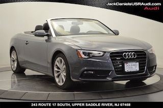 2013 Audi A5 2.0T Premium Plus Cabriolet for sale at Jack Daniels Audi of Upper Saddle River, NJ