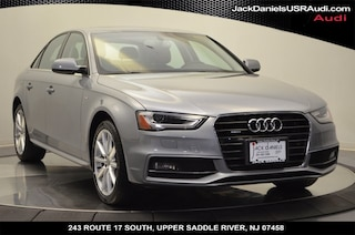 2016 Audi A4 2.0T Premium Plus Sedan for sale at Jack Daniels Audi of Upper Saddle River, NJ