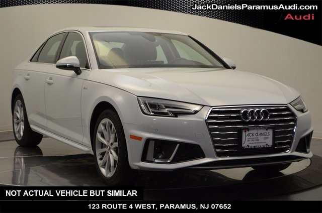New 2019 Audi A4 2.0T Premium Sedan for sale in Paramus, NJ at Jack Daniels Audi of Paramus