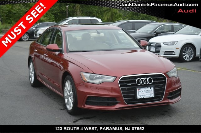 2015 Audi A6 3.0T Premium Plus Sedan for sale in Paramus, NJ at Jack Daniels Audi of Paramus