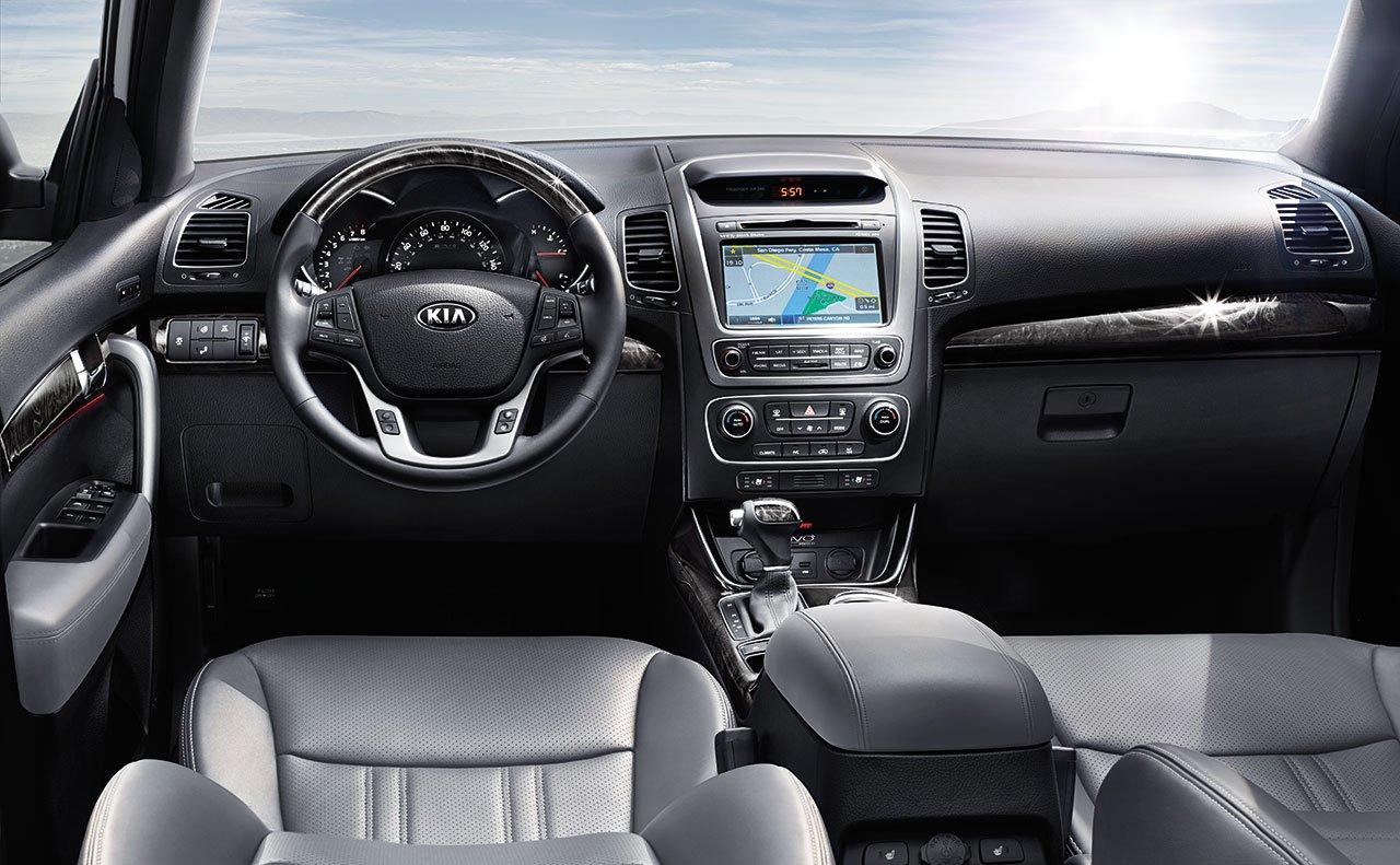 kx kia reviews by sorento review magazine car interior