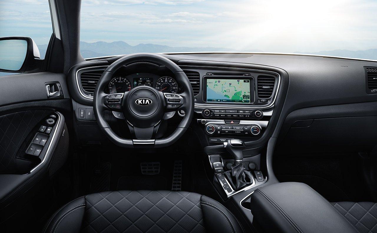 Delightful 2014 Kia Optima Interior