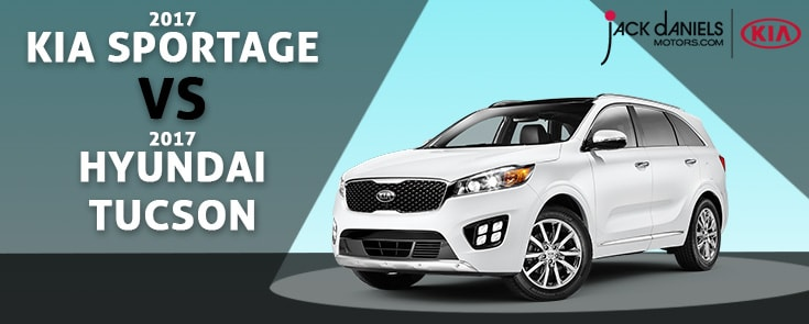 New 2017 Kia Sportage Vs. New 2017 Hyundai Tucson In Fair Lawn NJ