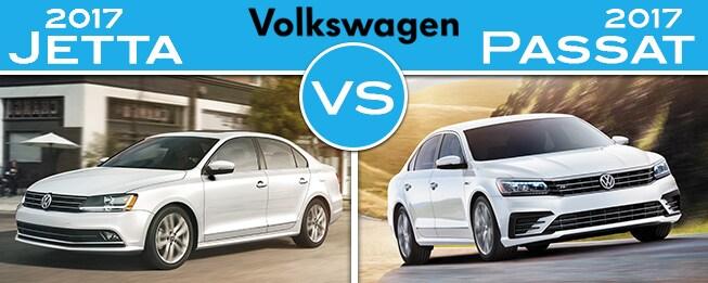 2017 Vw Jetta >> 2017 Volkswagen Jetta Vs 2017 Volkswagen Passat Fair Lawn Nj