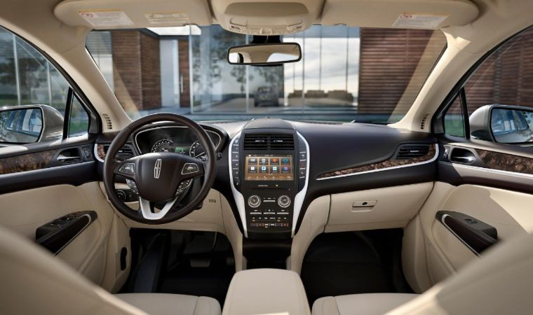 Interior View of the 2019 Lincoln MKC