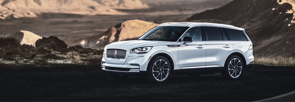 The 2020 Lincoln Aviator available at Jack Demmer Lincoln, near Ann Arbor, MI