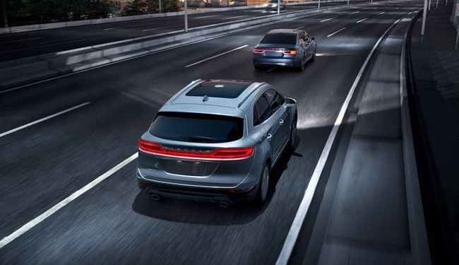 The 2019 Lincoln MKC features advanced safety features