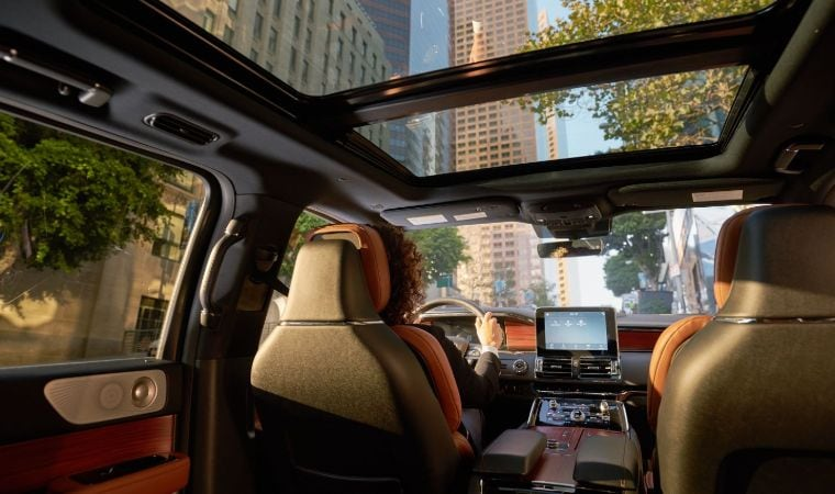 2019 Lincoln Navigator Interior View