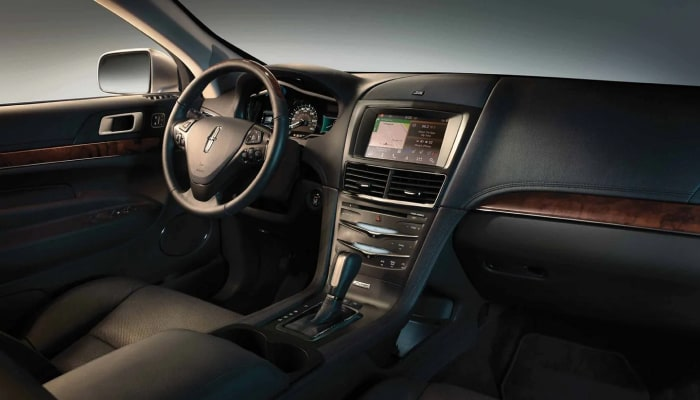 The spacious interior of the 2019 Lincoln MKT