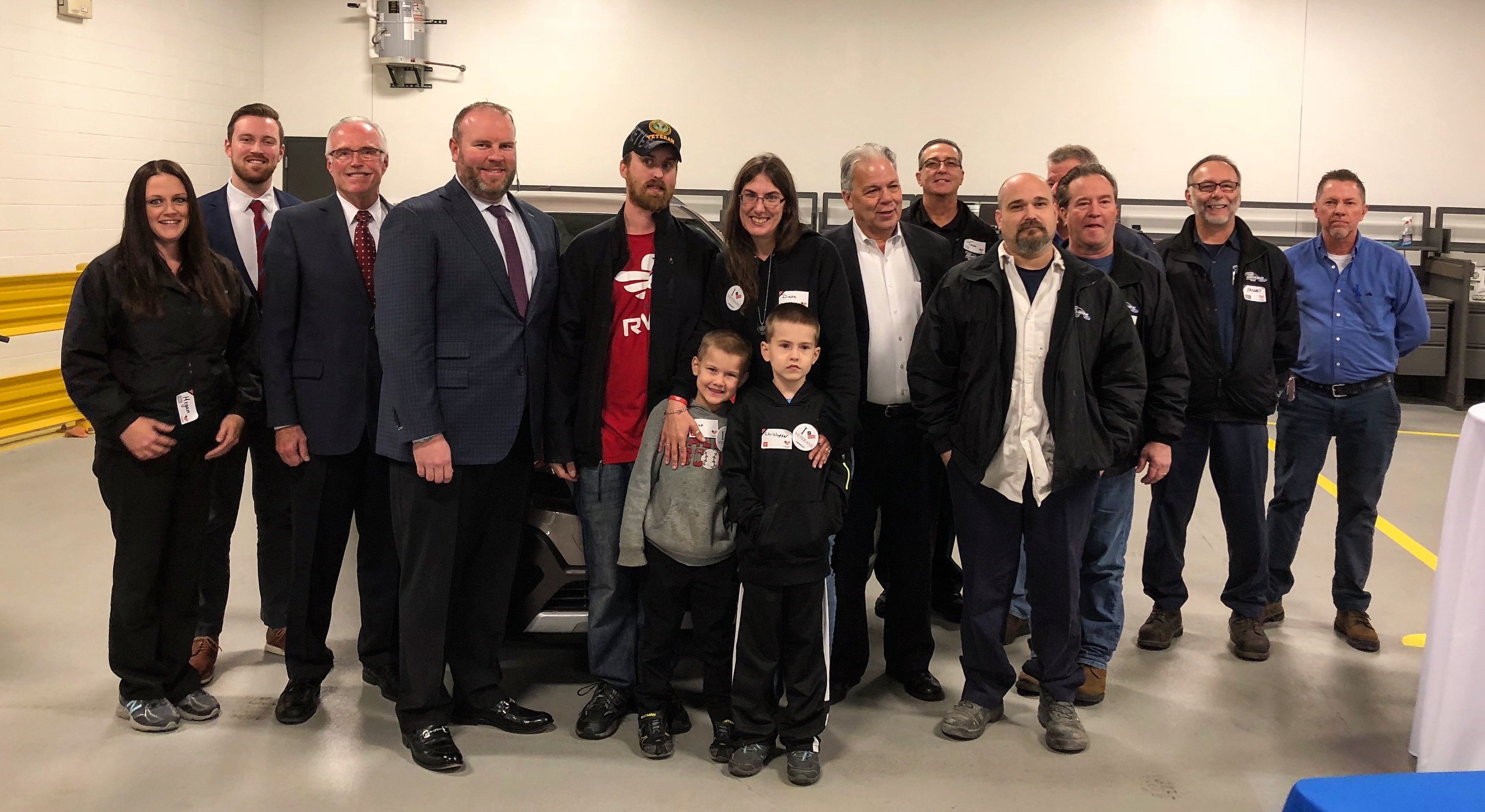 Jack Demmer Automotive Group Donates Vehicle to Veteran