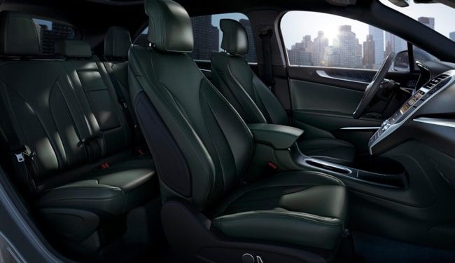The luxurious interior of the 2019 Lincoln MKC
