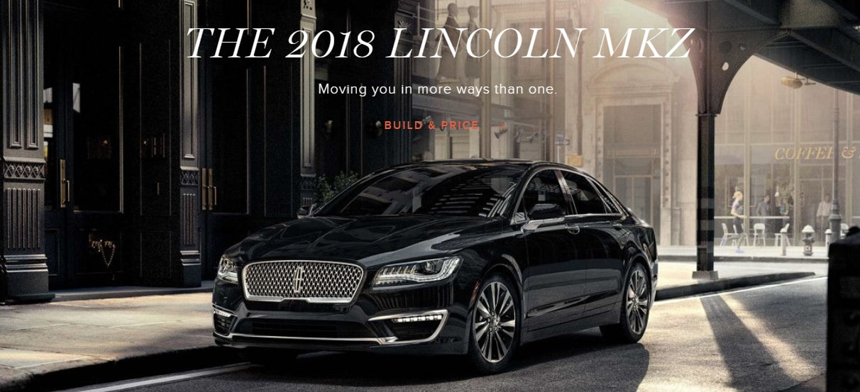3rd Generation Model of the Lincoln MKZ Available in 2018 ...
