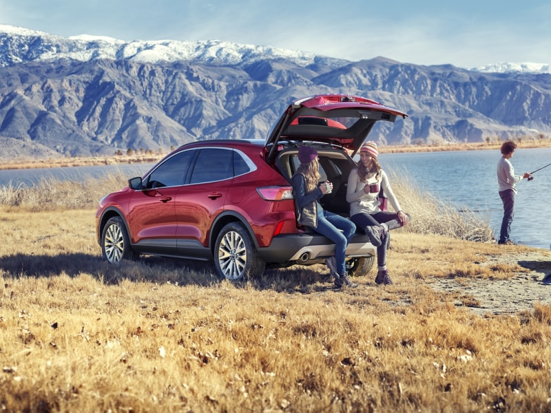 Stay safe inside the 2020 Ford Escape