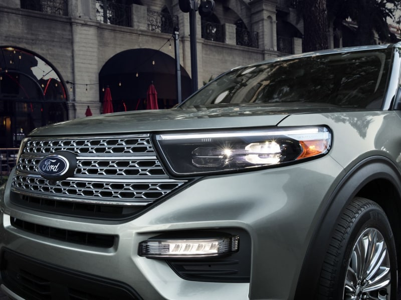 The 2020 Ford Explorer available at Jack Demmer Ford in Wayne, MI
