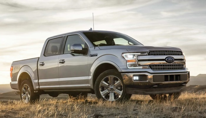 The rugged exterior of the 2019 Ford F-150