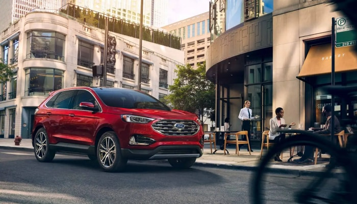Stay safe inside the 2019 Ford Edge