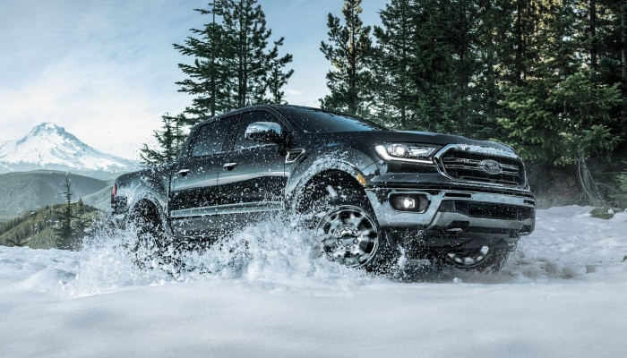 The 2019 Ford Ranger is ready for any terrain