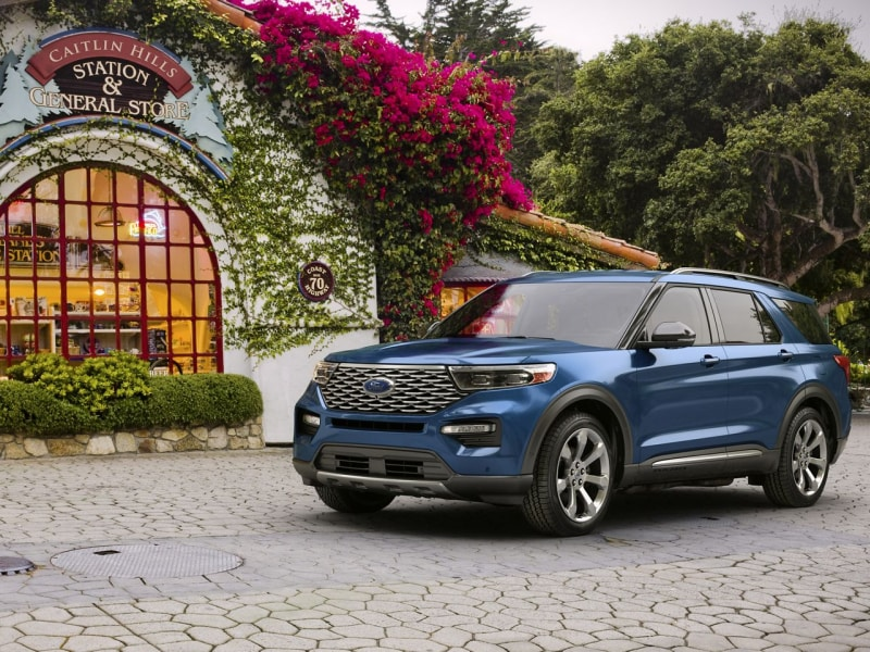 The sleek exterior of the 2020 Ford Explorer