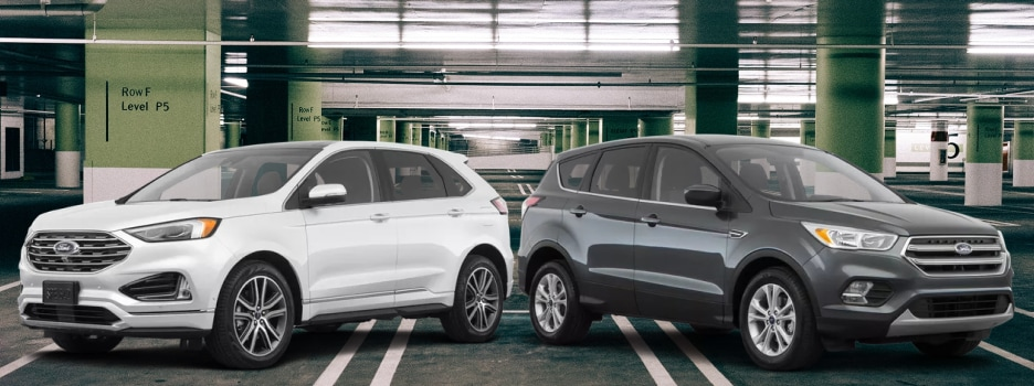 The 2019 Ford Edge and 2019 Ford Escape available at Jack Demmer Ford in Wayne, MI