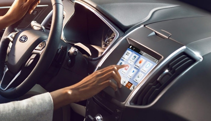 SYNC3 infotainment system inside the 2019 Ford Edge