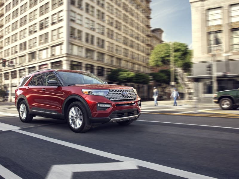 The high performance 2020 Ford Explorer
