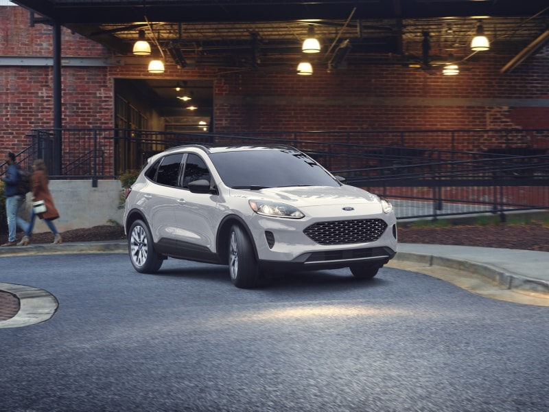 The redesigned exterior of the 2020 Ford Escape