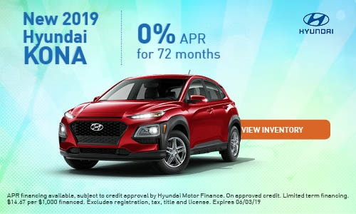 2019 Hyundai Kona - May