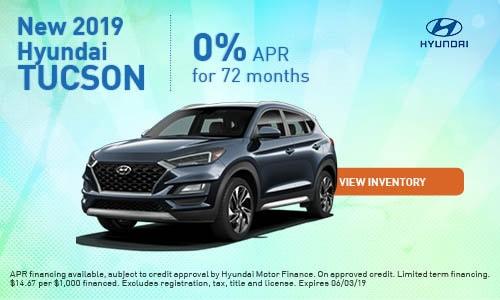 2019 Hyundai Tucson - May