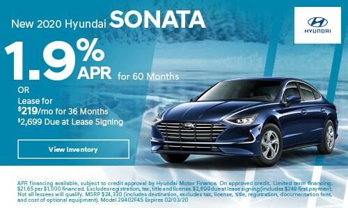 New 2020 Hyundai Sonata