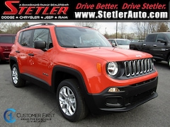 New 2018 Jeep Renegade SPORT 4X4 Sport Utility 724646 for sale in York, PA