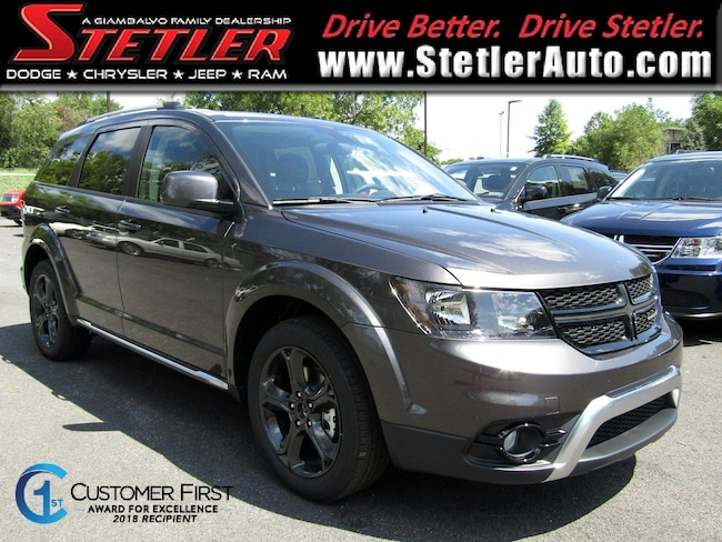 New 2018 Dodge Journey CROSSROAD AWD Sport Utility in York, PA