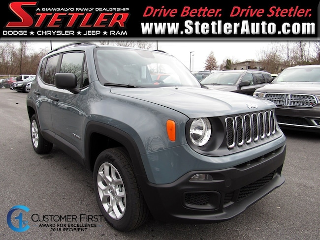 New 2018 Jeep Renegade SPORT 4X4 Sport Utility in York, PA