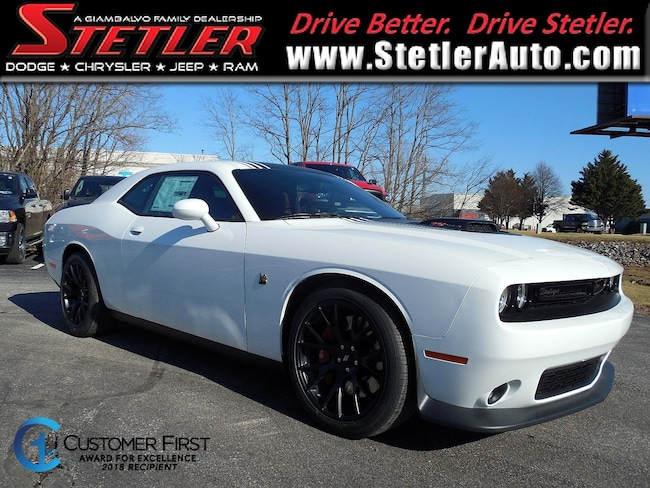 New 2018 Dodge Challenger 392 HEMI SCAT PACK SHAKER Coupe in York, PA