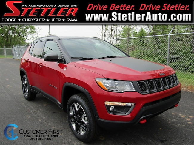 New 2018 Jeep Compass TRAILHAWK 4X4 Sport Utility in York, PA