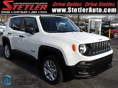 New 2018 Jeep Renegade SPORT 4X4 Sport Utility 724657 for sale in York, PA