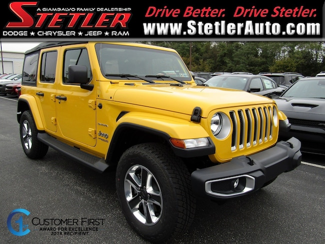 New 2018 Jeep Wrangler UNLIMITED SAHARA 4X4 Sport Utility in York, PA